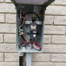 Exterior electrical box wiring